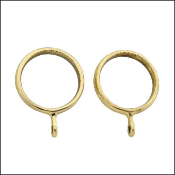 Brass Curtain Ring For 35mm Pole